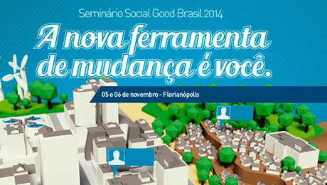 Social Good Brazil Summit 2014 discusses the role of technology for social change