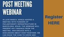 Post Funders Meeting Webinar