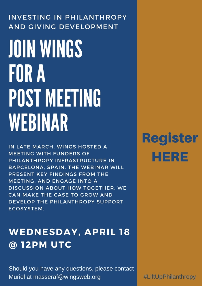 Post Funders Meeting Webinar