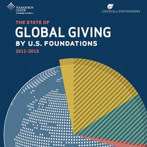 New report uses data to tell a story about international grantmaking by US Foundations