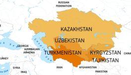 Former Soviet republics in Central Asia