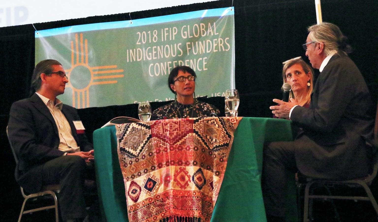 IFIP conference funders panel WK Kellogg, J R McKenzie Trust, Oak Foundation, Colorado Plateau Foundation.jpg